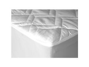 Down Etc. Lilypad Waterproof Mattress Pad With Fitted ...