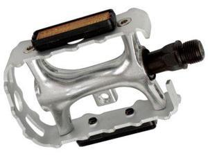 Diamondback 9/16-Inch Spindle Alloy Atb Pedals, Silver