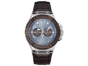 Mans watch R.GUESS CAB ESF.AZUL.COR.MARRON W0040G10