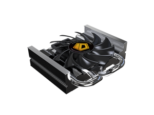 ID-COOLING IS-25 for ITX and HTPC systems Low-Profile CPU Cooler, Only 27mm High, 2 Heatpipe, Universal Mounting for Intel LGA775/1150/1155/1156 & All AMD Sockets