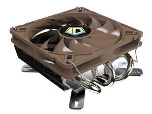 ID-COOLING IS-40 Low-Profile CPU Cooler for Mini-ITX/HTPC, 45mm High, 3 Copper Heatpipe & 92mm Fan, Intel LGA1150/1155/1156/775, AMD FM2+/FM2/AM3+/AM3/AM2+/AM2 Compatible