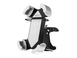 CHOETECH Universal Motorcycle & Bike Phone Mount Holder (360 Degree Rotation) for iPhones, Samsung Galaxy, LG, BlackBerry, HTC Smartphones, GPS Devices and More
