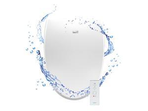 BIO BIDET A8 SERENITY ADVANCED BIDET TOILET SEAT - WHITE ELONGATED