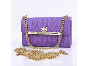 High Quality Wallet Bow Ling Line Grid UpgradesTriple Holster with Long-chain With Card Slot For Samsung Galaxy Note3 N9000 Leather Case Hot Sale! For Galaxy NoteIII