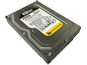 "Western Digital RE3 WD2502ABYS 250GB 16MB Cache 7200RPM SATA 3.0Gb/s 3.5"" Internal Hard drive - OEM w/1 Years Warranty"