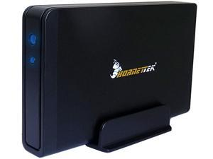 HornetTek Viper 2TB (2000GB) 64MB Cache 7200RPM SuperSpeed USB 3.0/2.0 External Hard Drive (Black) - Retail w/1 Year Warranty