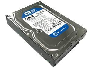 "Western Digital Blue WD5000AAKS 500GB 16MB Cache 7200RPM SATA II (3.0Gb/s) Internal Desktop 3.5"" Hard Drive - OEM w/1 Year Warranty"