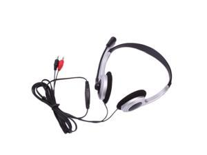 New PC Computer Headphone Headset Microphone For Skype MSN