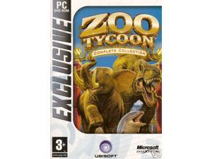 ZOO TYCOON COMPLETE COLLECTION 3 GAMES PC XP (DVD-ROM)