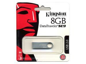 Kingston Data Traveler SE9 8GB USB Flash Drive 8G Metal Memory Stick PC Mac