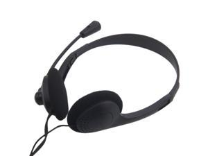 High Quality 3.5mm Stereo Headphone Headset with game Microphone for PC Computer