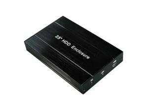"12.5mm IDE 2.5"" PATA USB 2.0 Hard Drive Enclosure Case"
