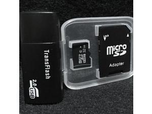 32GB Micro SD Card Micro SDHC TF Flash Memory Card SD Adapter class 10 Black