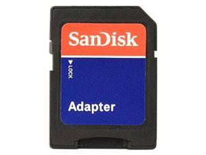 SanDisk MicroSD Micro SD to SD HC SDHC Memory Card Adapter Reader