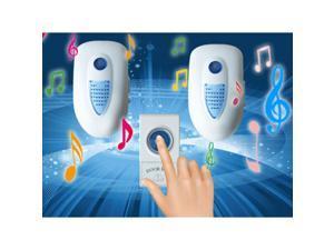 Wireless Door Bell 1 Remote Control 2 Wireless digital Receiver Doorbell 110V
