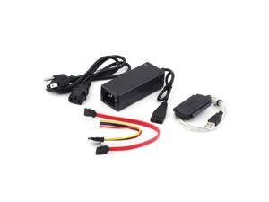 USB 2.0 to IDE SATA S-ATA 2.5 3.5 HD HDD Hard Drive Adapter Converter Cable CU