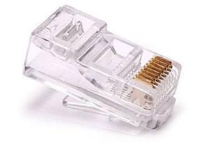 100 Pcs LOT RJ45 Network Cable Modular Plug CAT6 8P8C Connector End
