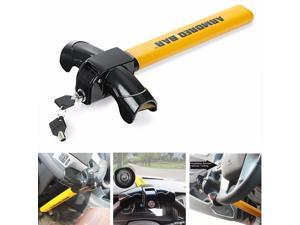 Universal Auto Car Anti-Theft Security Rotary Steering Wheel Lock Top Mount SUV