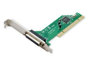 SYBA PCI to Parallel Port Controller Card, Model: SY-PCI10001