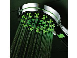 HotelSpa® LED/LCD Hand Shower with Lighted Temperature Display