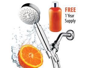 HotelSpa® Fusion Vitamin C Chlorine-Removing Handheld Shower with Hose