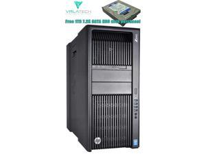 HP Z840 Workstation with 2 x Intel Xeon 12 Core E5-2670V3 2.30 GHz 30MB Cache 120W TDP, 64GB DDR4 RAM, 1 x 240GB SSD SATA 2.5 Inch & 1 x 2TB 7.2K RPM SATA 3.5 Inch Hard Drive, Quadro NVS 510