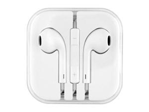 Earphone Earbud Headset Volume Control Mic for Apple iPhone 5 5s 5C 4 4s, iPod