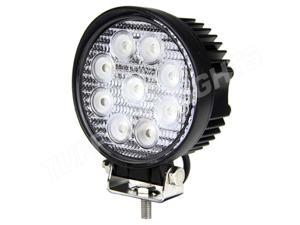 Tuff LED Lights Round LED Work Light - 4 Inch 27 Watt - Spot