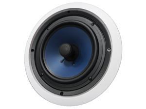 "82C Silver Ticket 8"" 120-Watt 2-Way In-Ceiling Speaker with Pivoting Tweeter (1 Speaker, White)"