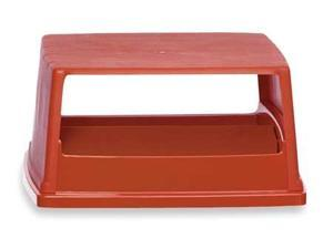 """26-5/8"""" Trash Can Top, Red ,Rubbermaid, FG256X00RED"""