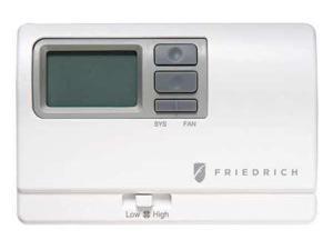 FRIEDRICH RT6 Wall Thermostat,24VAC,5-1/2 In. W