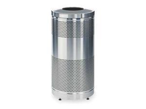Trash Can, Gray ,Rubbermaid, FGS3SSTSSPL