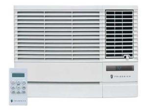 FRIEDRICH EP24G33B Window AC w/Heat23500 BtuH, 208/230V