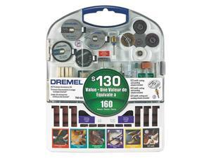 DREMEL 710-08 All Purpose Dremel Accessory Set, 160 Pc
