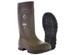 BEKINA Z040-10 Boots,Steel Toe,PU,16In,Green,10,PR
