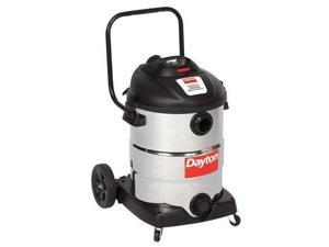 DAYTON 22XJ48 Wet/Dry Vacuum, 6.5 HP, 16 gal., 120V