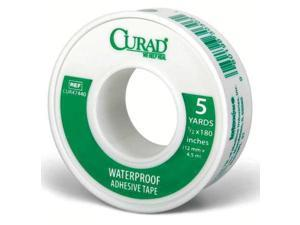 CURAD CUR47440 Tape,White,1/2 In. W,5 yd. L