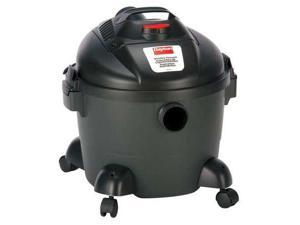 DAYTON 3VE18, Wet/Dry Vacuum, Contractor High Air Flow, 6 gal. Tank