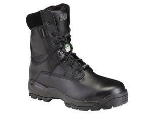 5.11 TACTICAL 12026 Boot, Composite, 11W, Sidezip /Lace, Blk, Pr