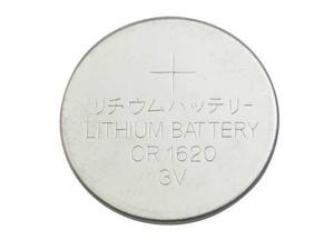5HXG7 Coin Cell, 1620, Lithium, 3V