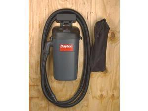 DAYTON 13J021 Hang-Up Wet/Dry Vacuum, 5.5 HP, 5 gal, 120V