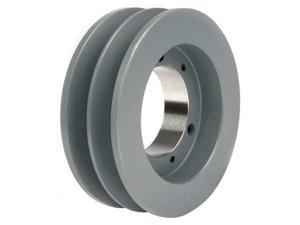 "TB WOOD'S 3V302 V-Belt Pulley, Detachable, 2Groove, 3""OD"