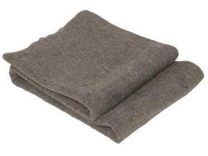 MEDSOURCE MS-40521 Emergency Blanket, Gray, Wool, 54 in L, PK10