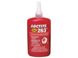 LOCTITE 1330335 Primerless Threadlocker 263, 250mL, Red