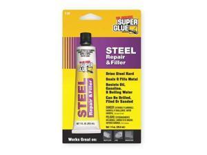 SUPER GLUE T-SR48 Steel Repair Cement