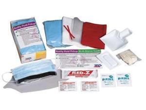 FIRST AID ONLY 214-P Biohazard Spill Kit, Cardboard Tray, White