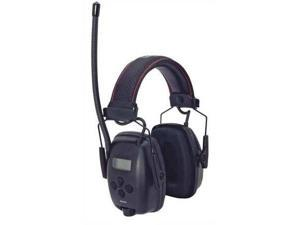HOWARD LEIGHT BY HONEYWELL 1030331 Electronic Ear Muff,AM/FM,Black,25dB