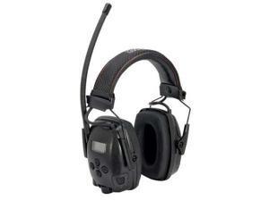 HOWARD LEIGHT BY HONEYWELL 1030333 Electronic Ear Muff,FM,Black,25dB