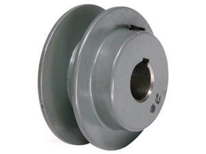 "TB WOOD'S AK2034 V-Belt Pulley, 3/4""Fixed, 2.05""OD, CastIron"