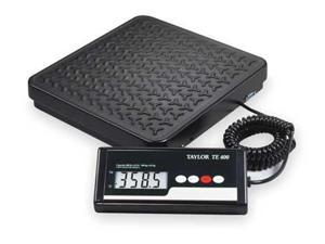TAYLOR TE400 Digital Shipping & Rcvng Scale, Steel